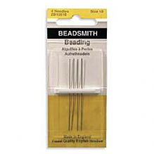 Beading Needles Size 10 - Pack of 4